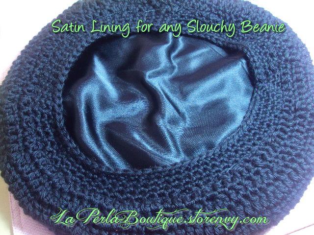 5a75030f26b75 My Handmade Slouchy Beanies…Satin lined!!!