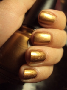 China Glaze Gold Fusion