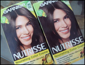 Garnier nuctrisse darkest brown